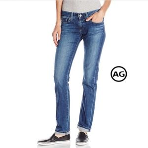 AG Tomboy relaxed straight leg jean 06Year Wash
